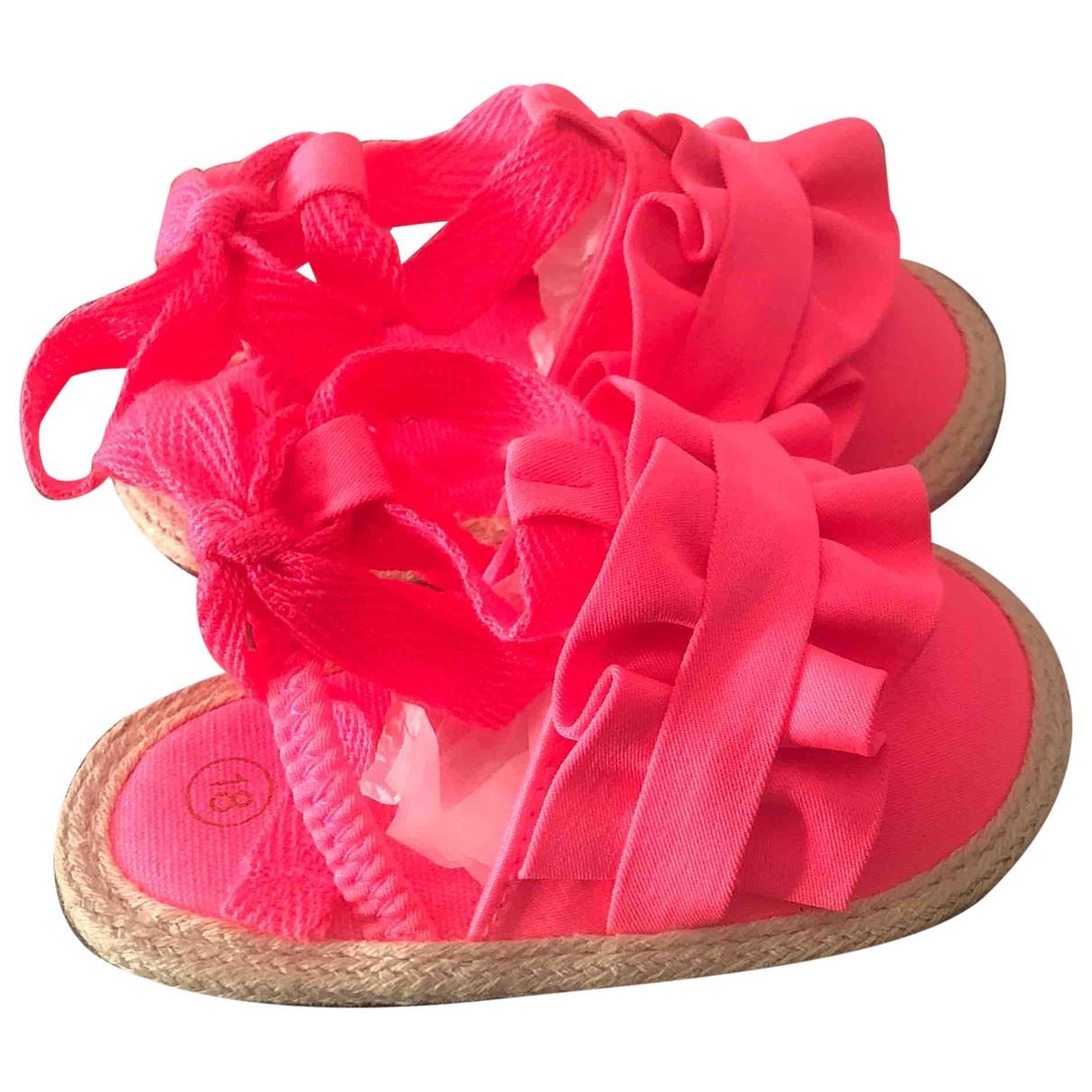 Billieblush - Sandales   pour enfant en toile - rose
