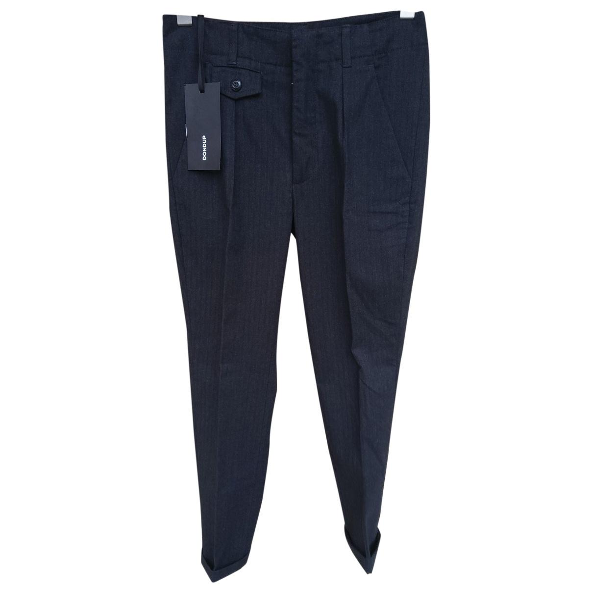 Dondup \N Black Trousers for Men S International