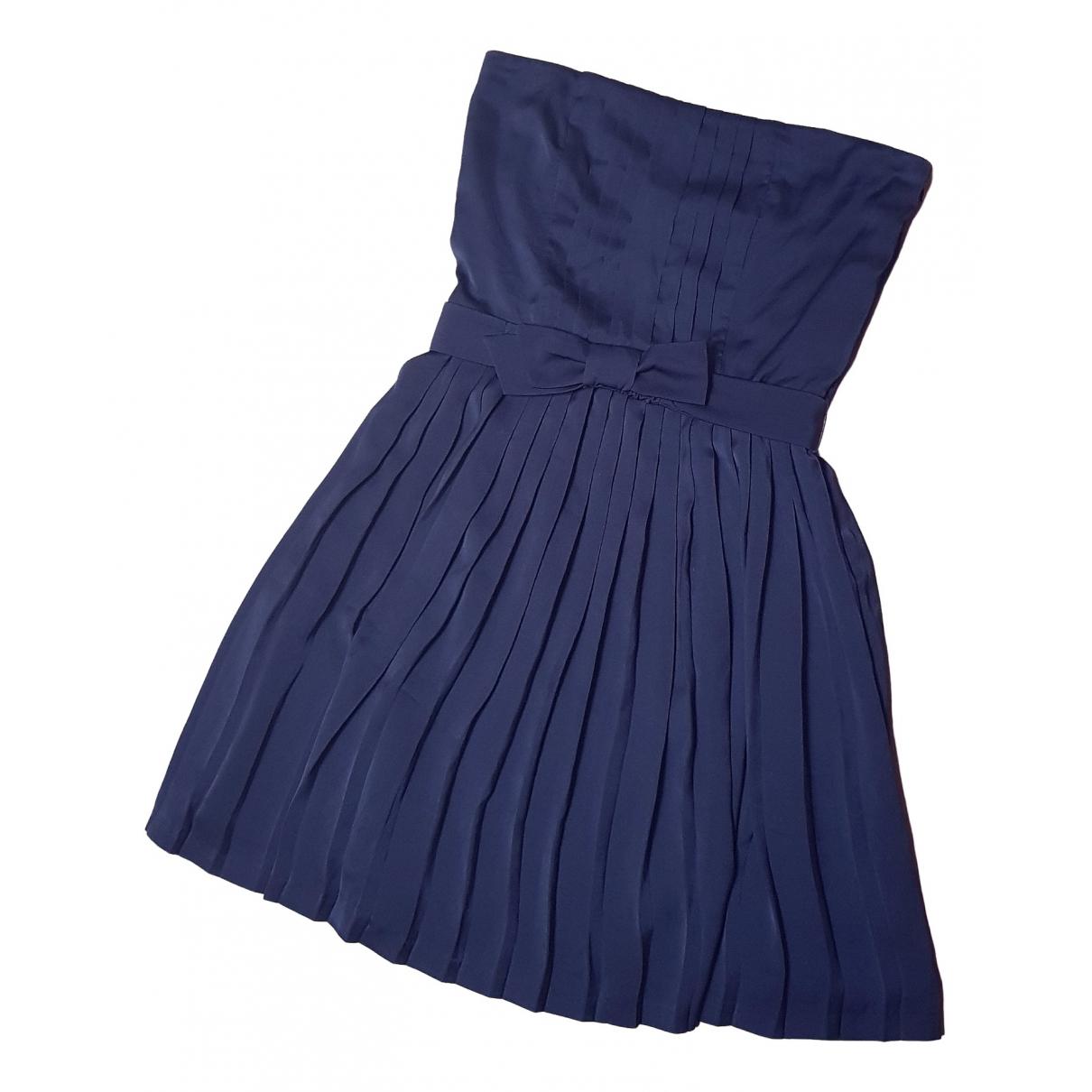 Sandro \N Blue dress for Women 38 FR
