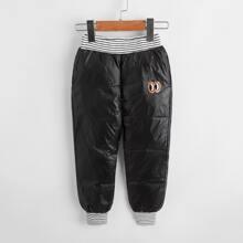 Pantalones para niño pequeño A rayas Casual