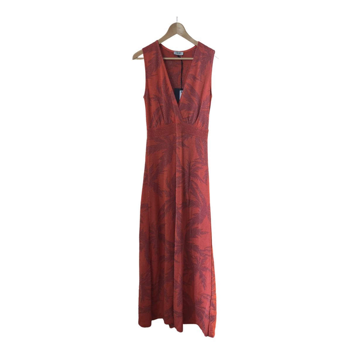 Liu.jo \N Kleid in  Orange Polyester