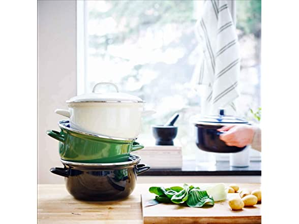 Bk 2.5qt Dutch Oven Cookware Pot