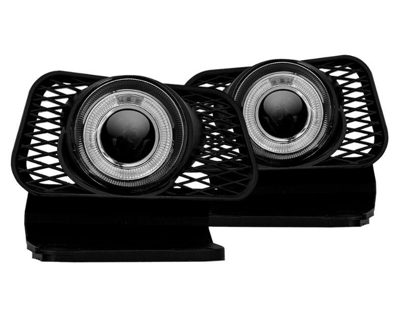 Winjet WJ30-0057-09 Clear Halo Projector Fog Lights Chevrolet Silverado 1500 03-06