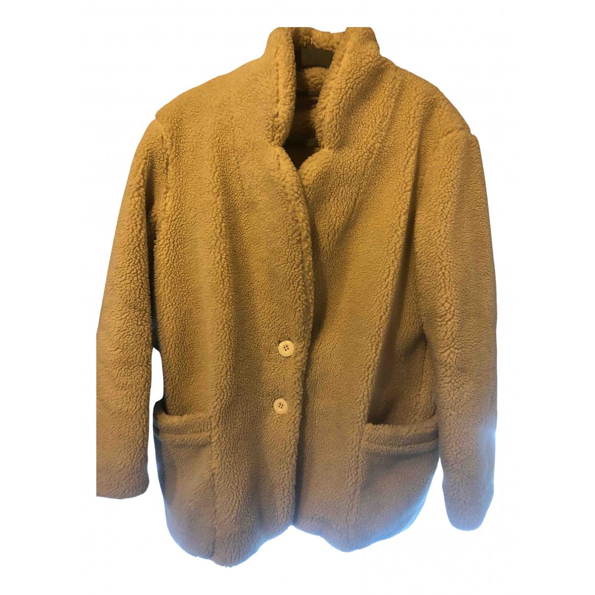 Mes Demoiselles ... \N Beige Cotton coat for Women 36 FR