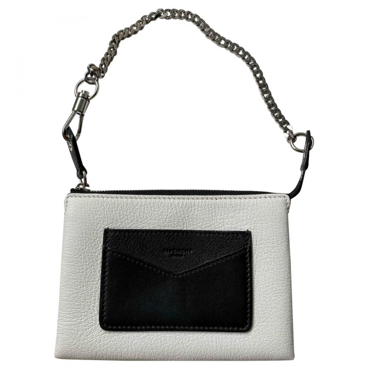 Givenchy \N Handtasche in  Weiss Leder