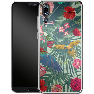Huawei P20 Pro Silikon Handyhuelle - Tropic Fun von Mark Ashkenazi