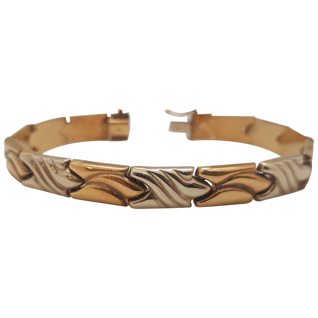 Non Signé / Unsigned Gourmette Yellow Yellow gold bracelet for Women \N