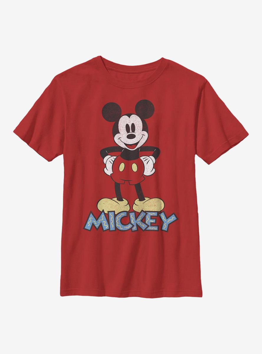Disney Mickey Mouse 90s Mickey Youth T-Shirt
