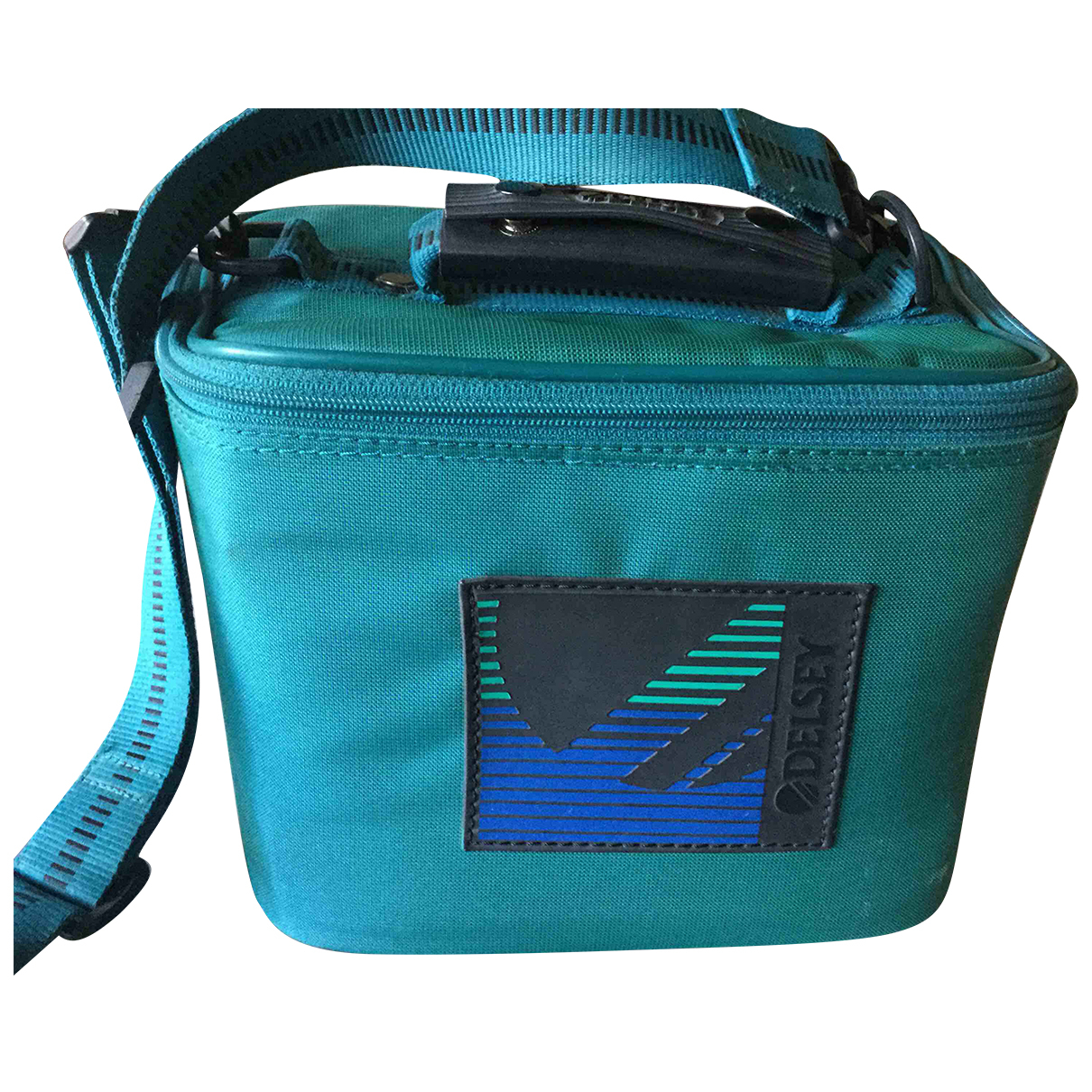 Non Signé / Unsigned N Green Travel bag for Women N