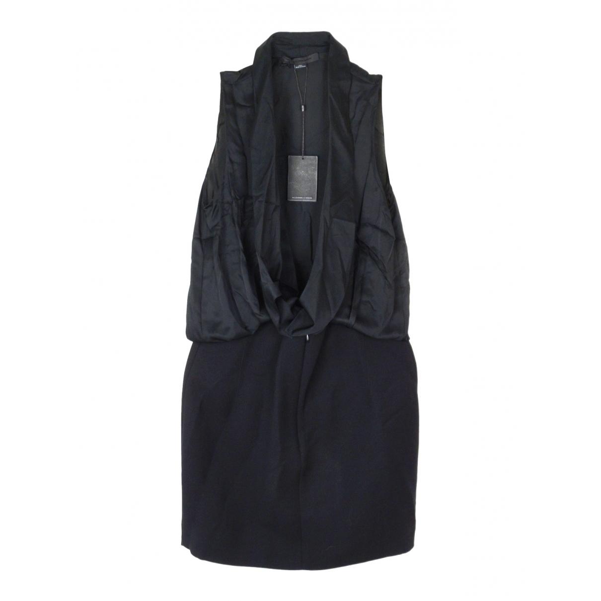 Alexander Wang \N Kleid in  Schwarz Wolle