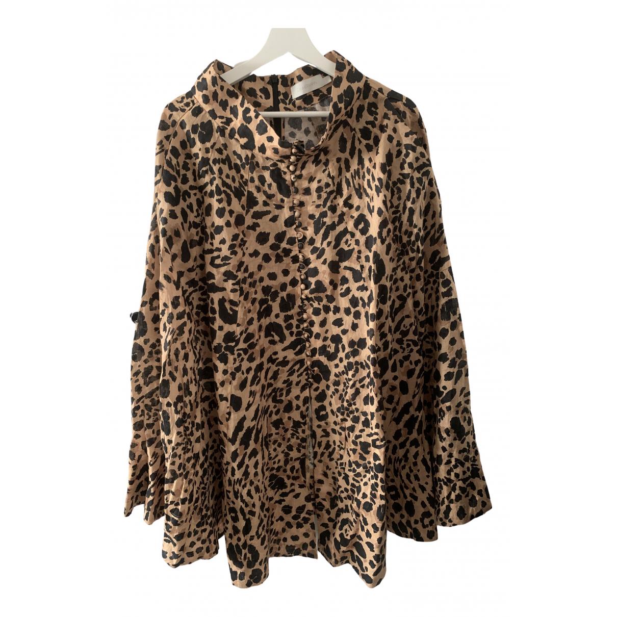 Zimmermann N Multicolour Linen jacket for Women One Size International
