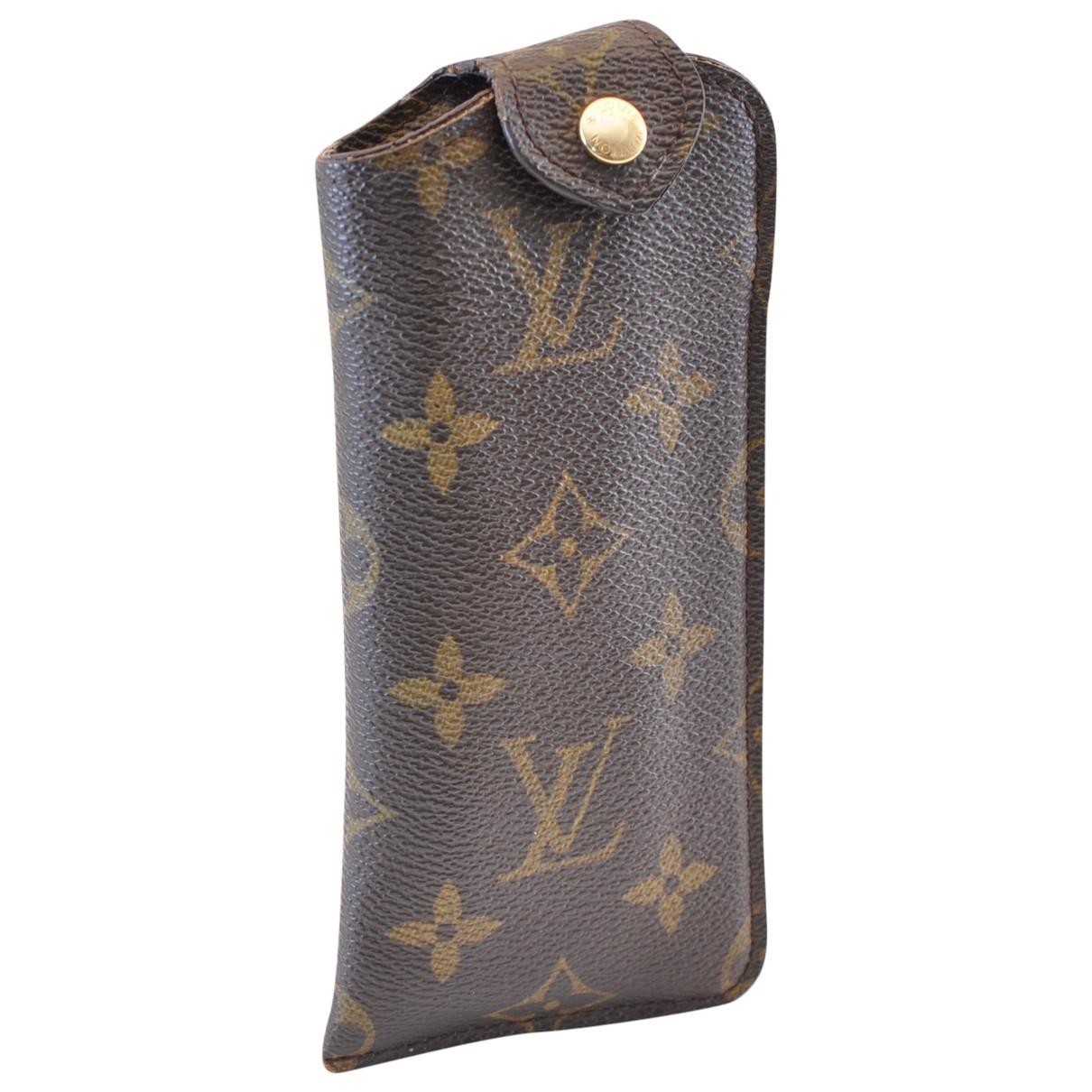 Louis Vuitton - Foulard   pour femme en coton - marron