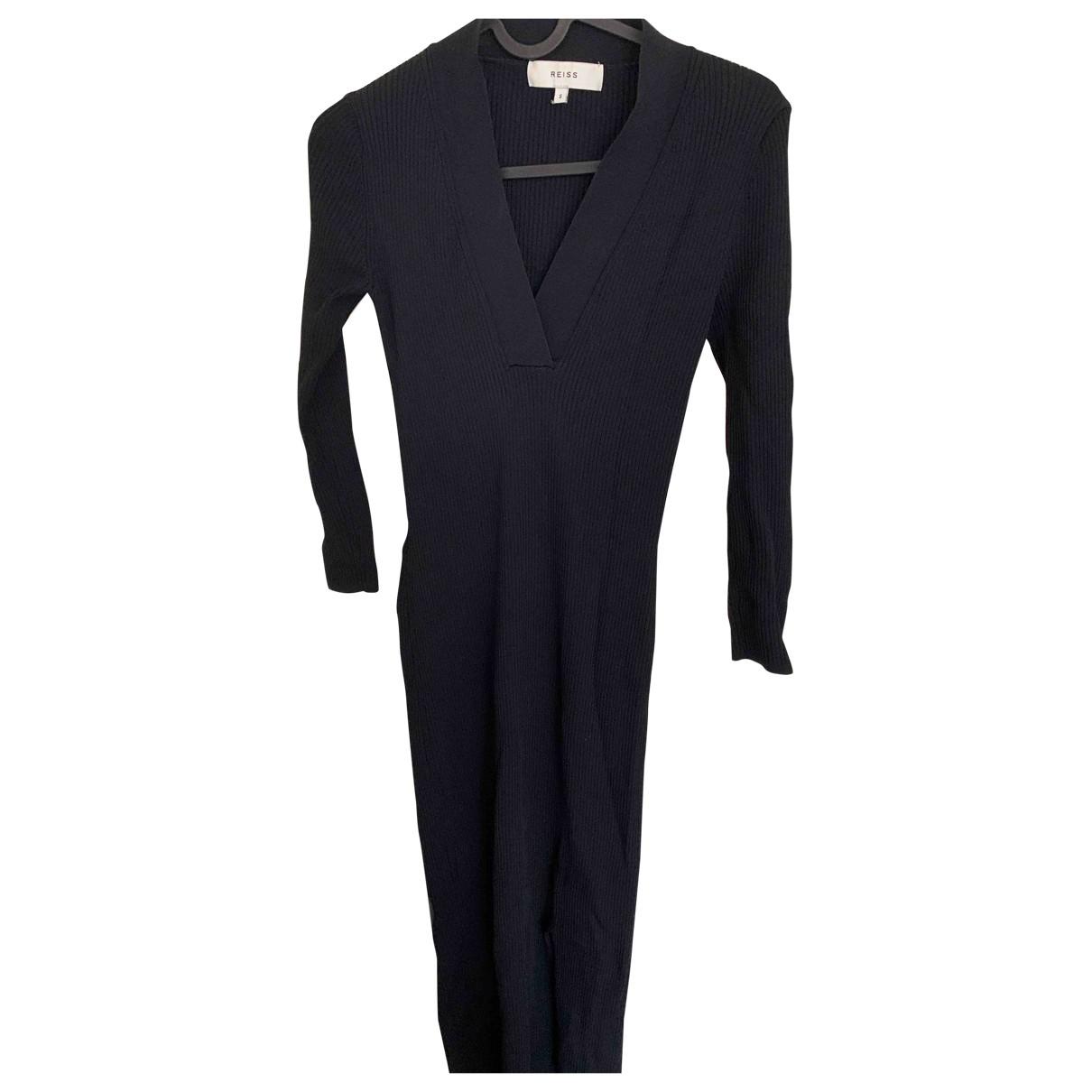 Reiss \N Kleid in  Schwarz Wolle