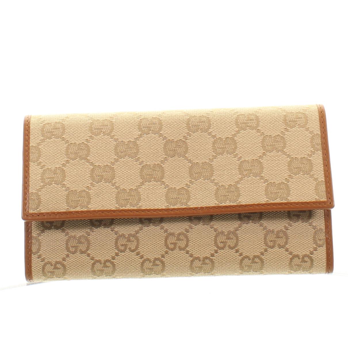 Gucci - Portefeuille   pour femme en autre - beige