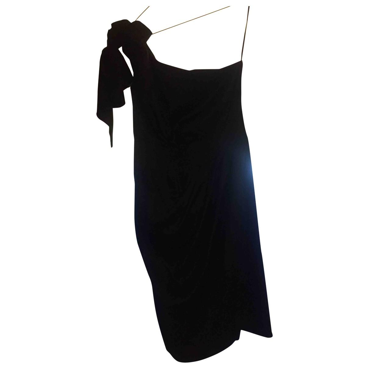 Flavio Castellani \N Kleid in  Schwarz Seide