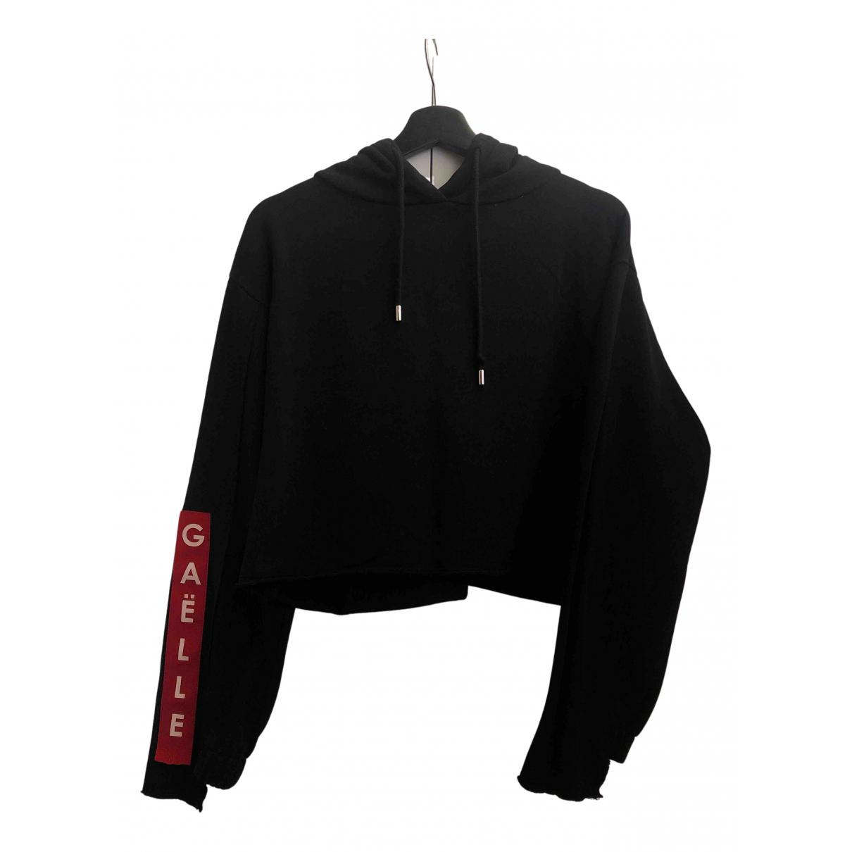 Gaelle Paris N Black Cotton Knitwear for Women 2 US
