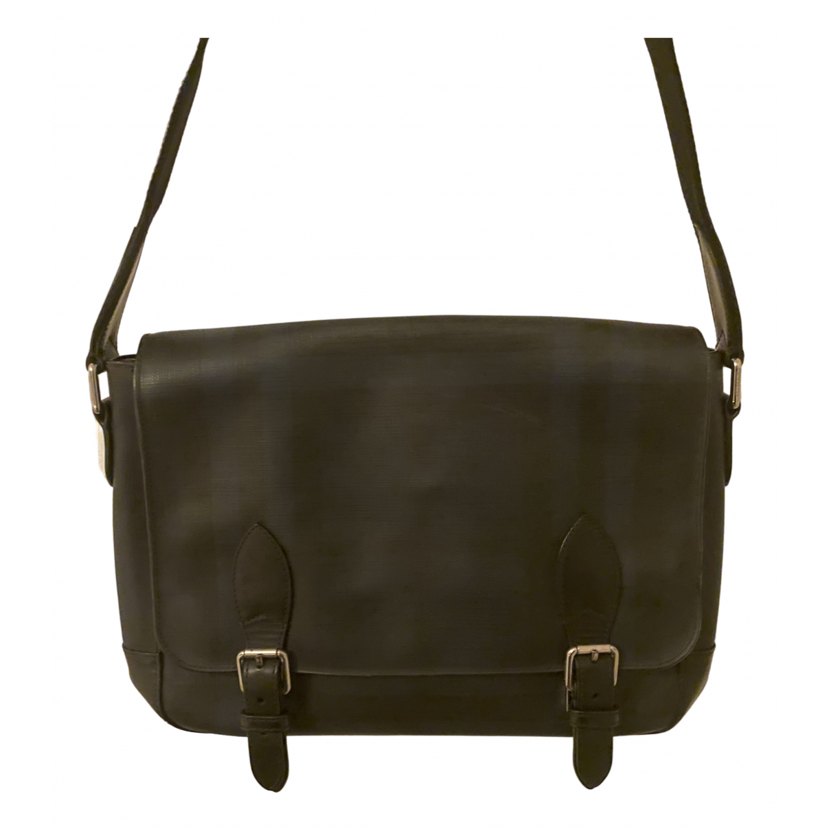 Burberry N Blue Leather bag for Men N