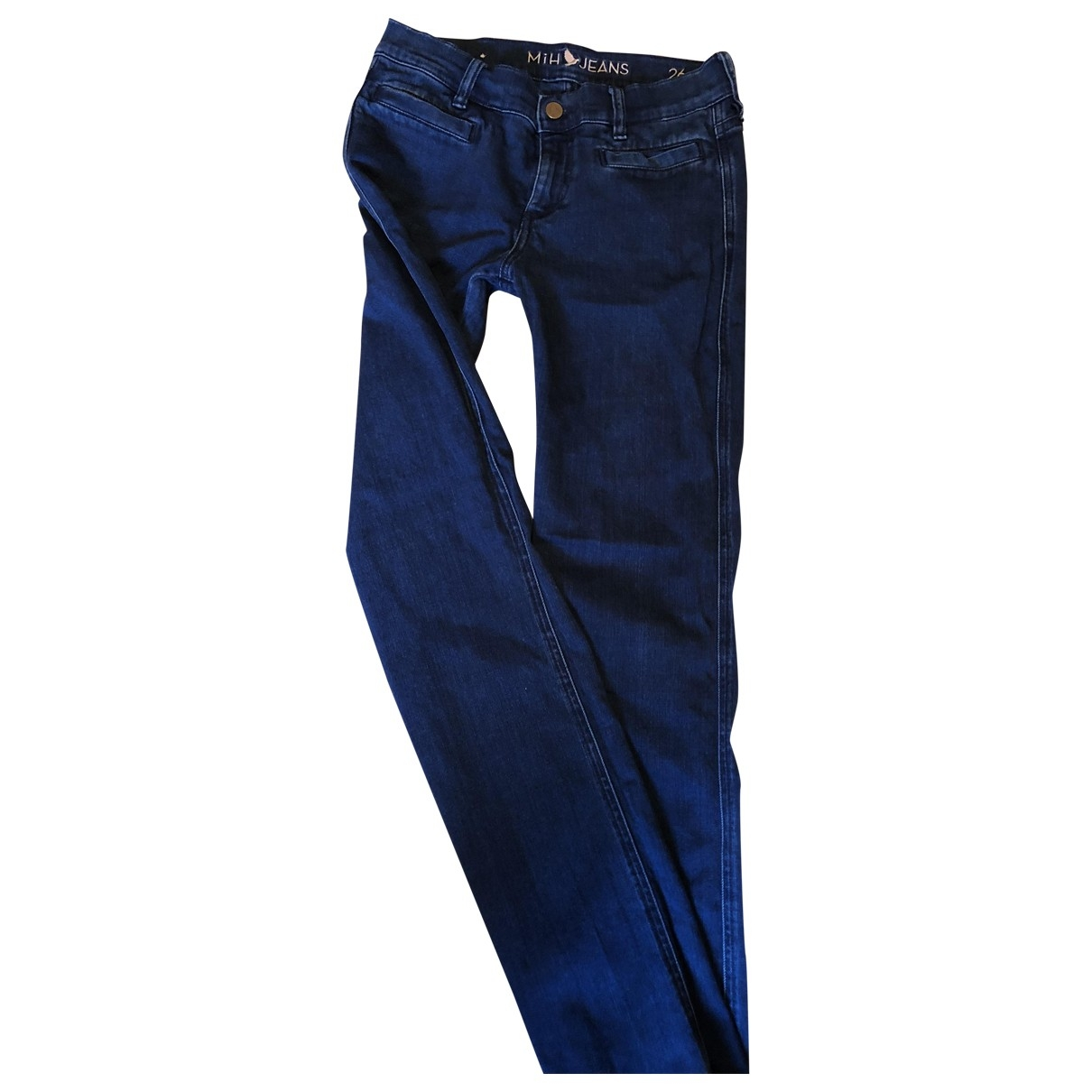 Mih Jeans \N Blue Cotton Jeans for Women 26 US