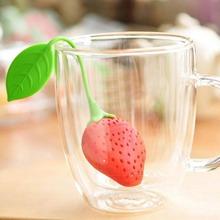 Filtro de te en forma de fresa