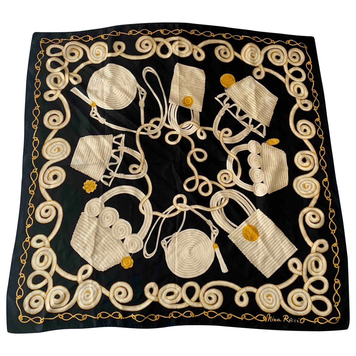 Nina Ricci - Foulard   pour femme en soie - multicolore