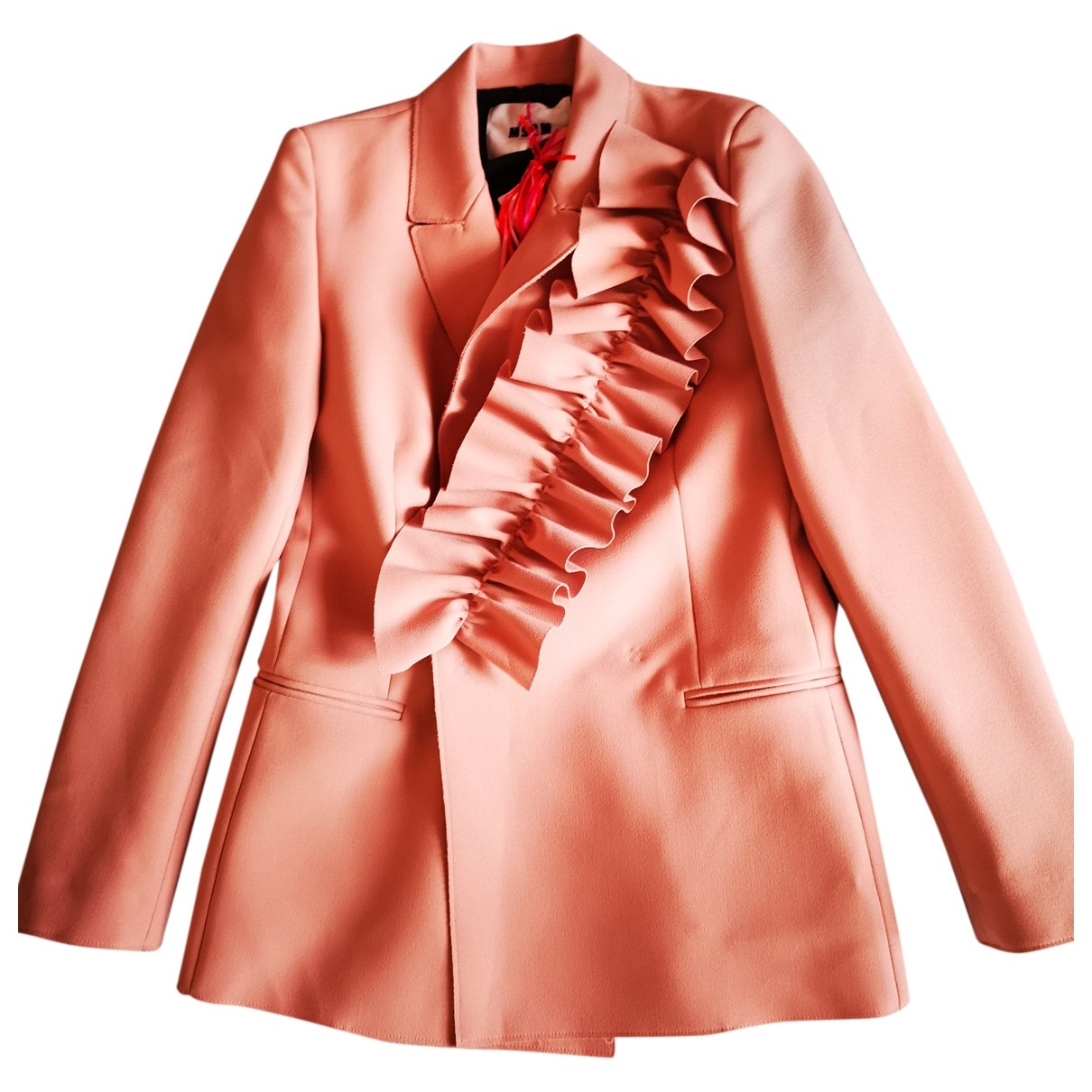 Msgm - Veste   pour femme - rose