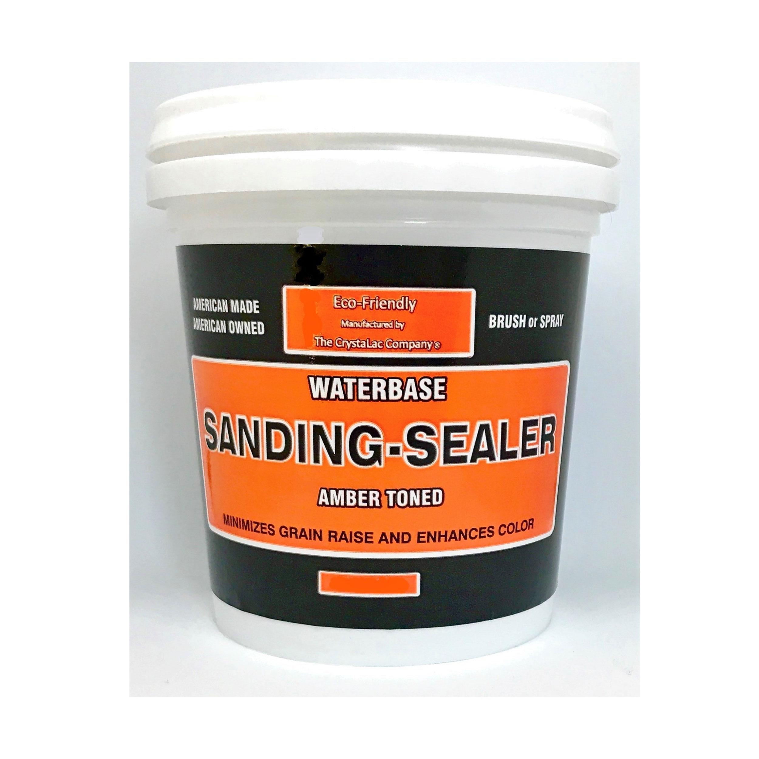 Sanding Sealer Amber Tone Mini Half Pint