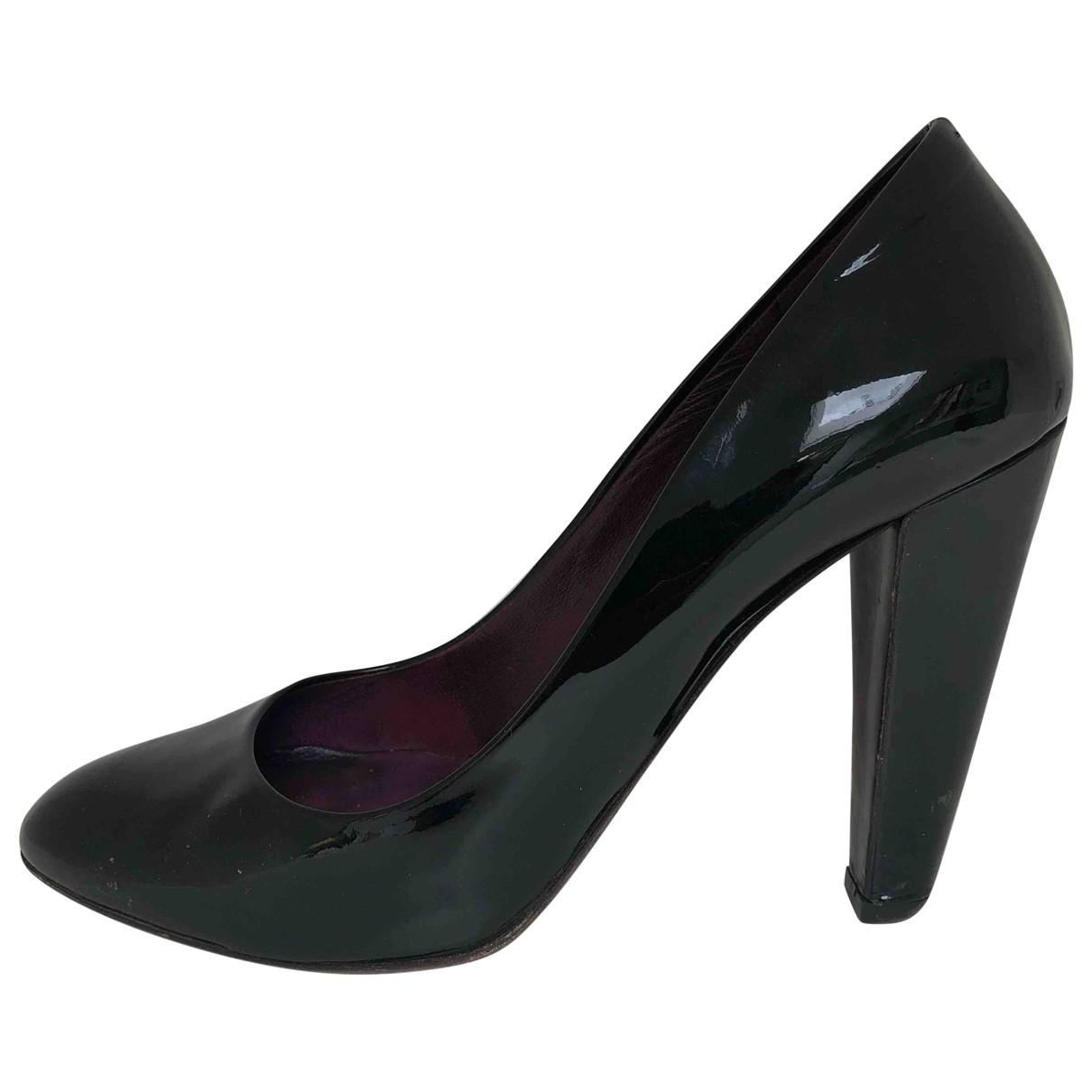Miu Miu \N Black Patent leather Heels for Women 38 EU