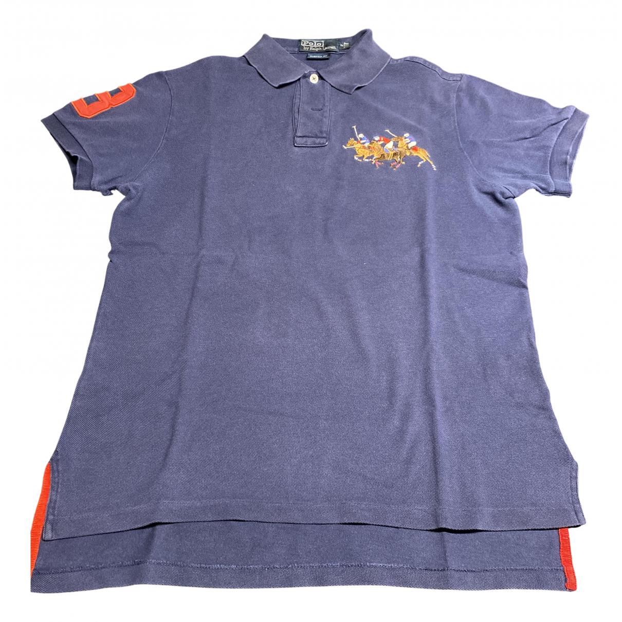 Polo Polo classique manches courtes en Algodon Azul Polo Ralph Lauren