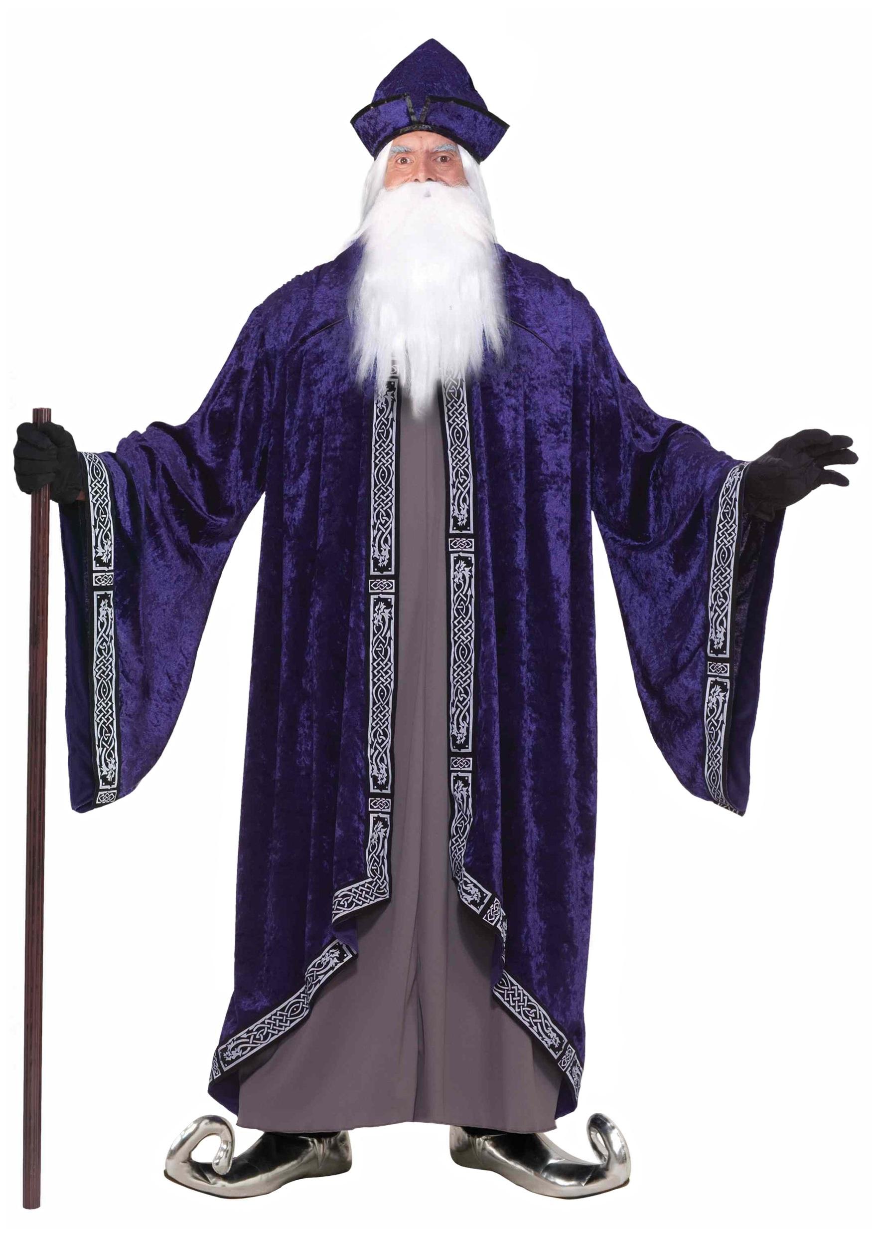 Plus Size Royal Wizard Costume 3X