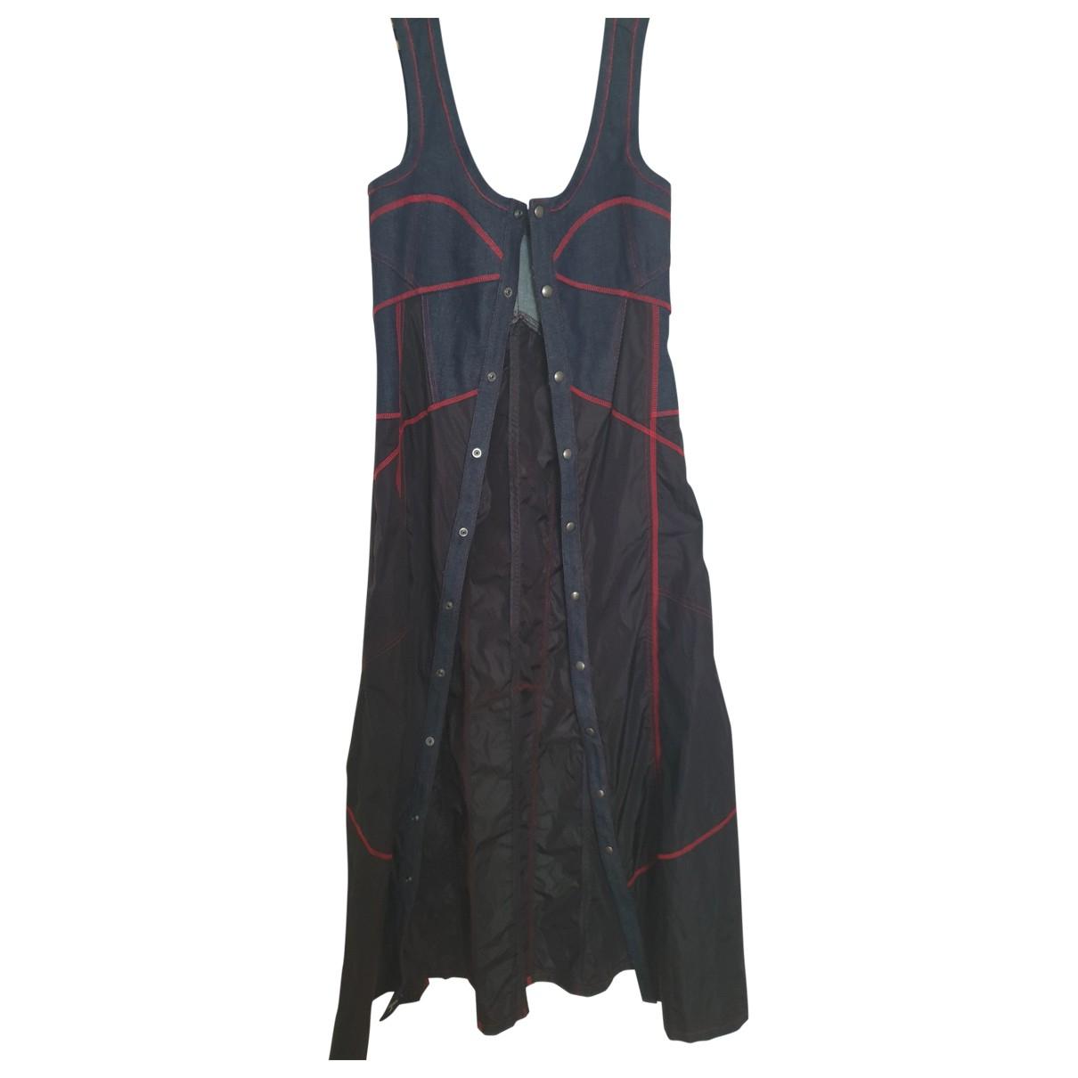 Diesel Black Gold \N Kleid in  Blau Baumwolle