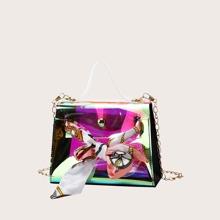 Bolsa cartera con pañuelo