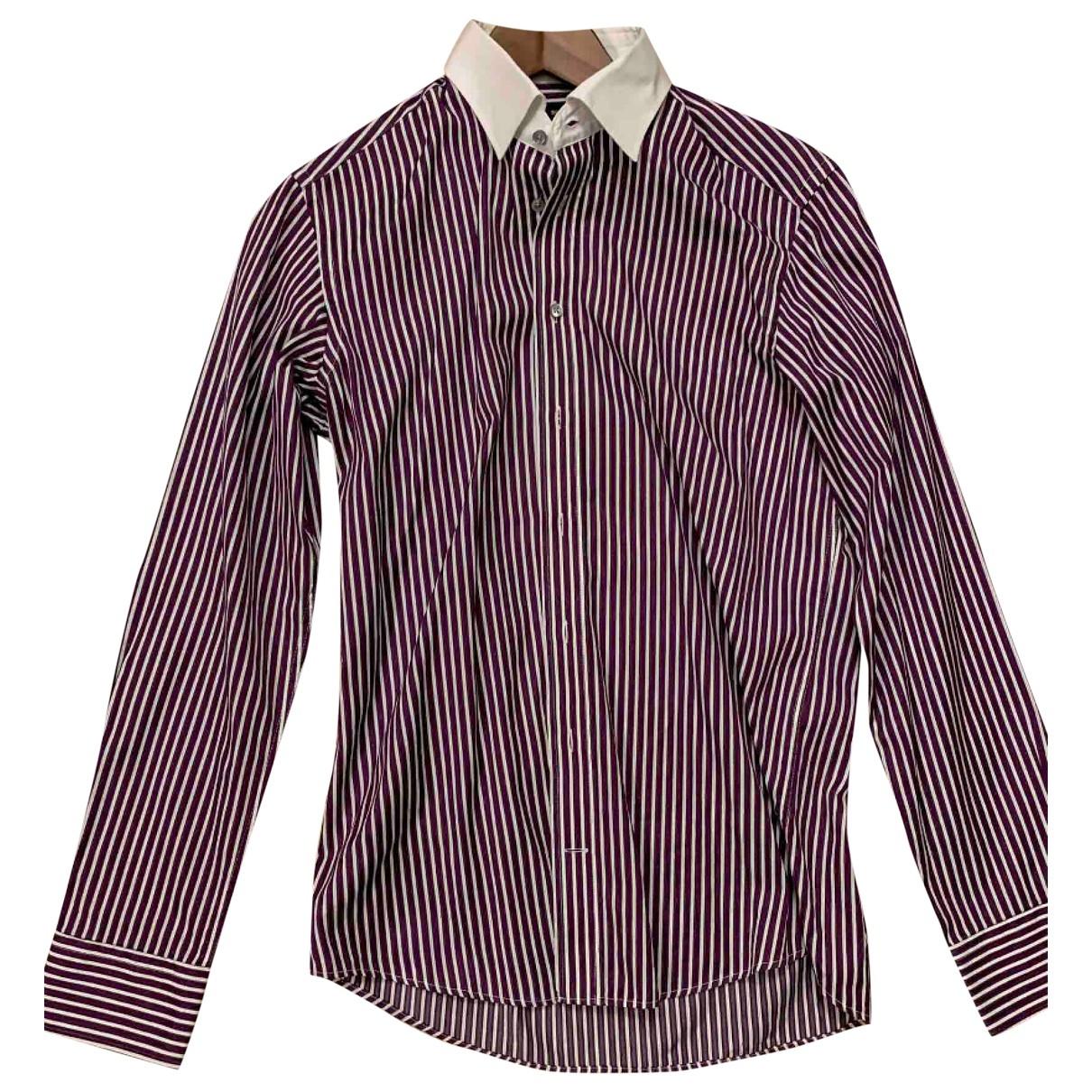 Sand \N Multicolour Cotton Shirts for Men 39 EU (tour de cou / collar)