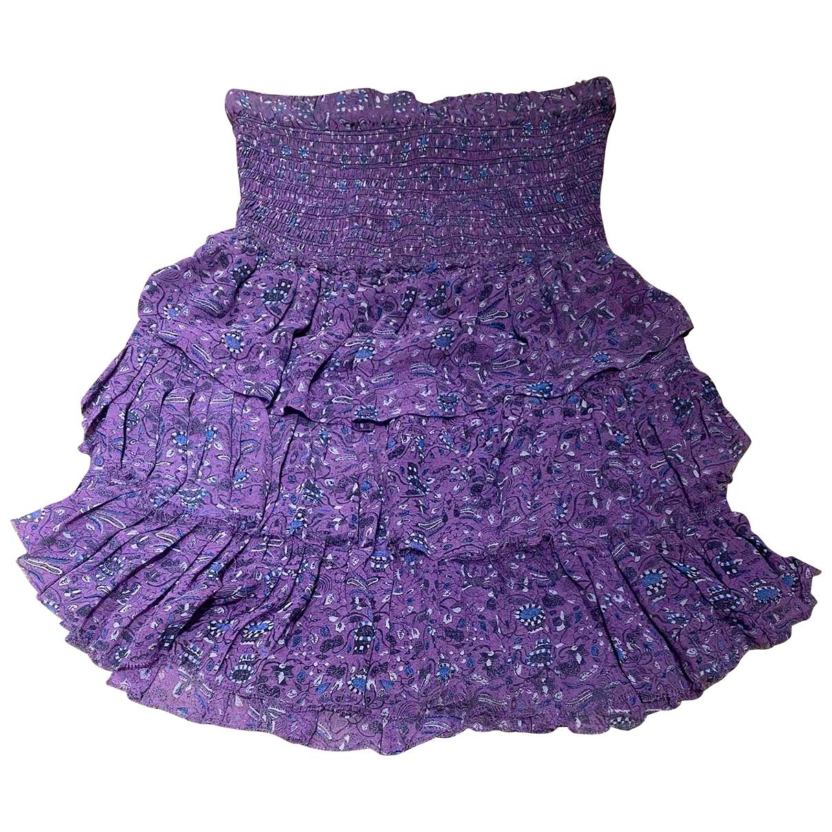 Isabel Marant - Robe   pour femme en soie - violet
