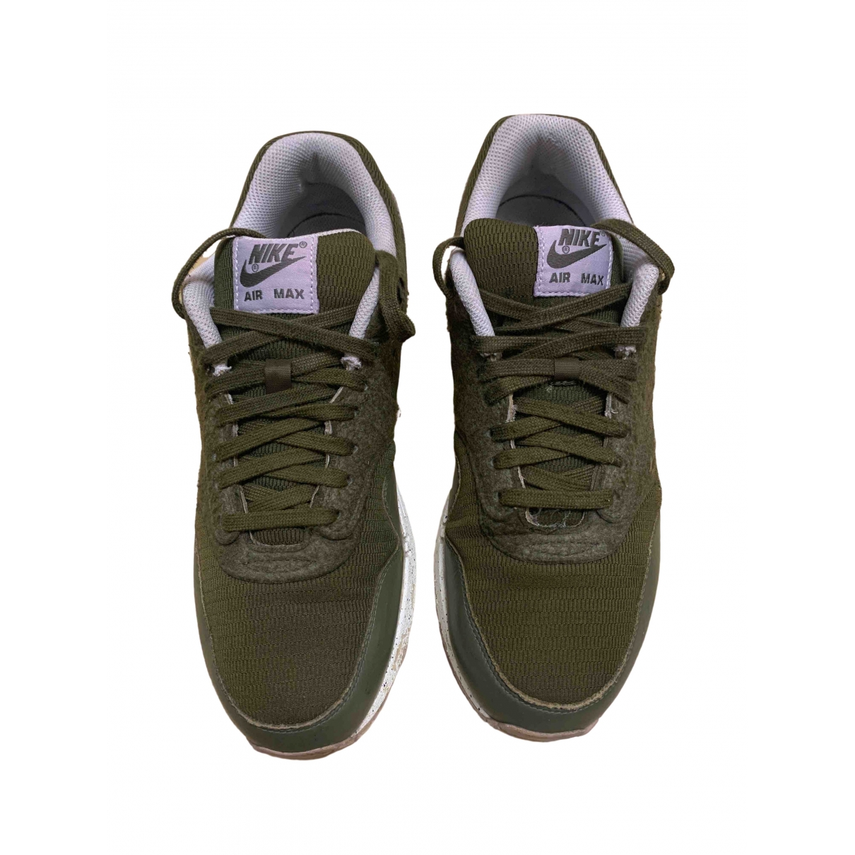 Nike Air Max 1 Green Cloth Trainers for Men 44 EU
