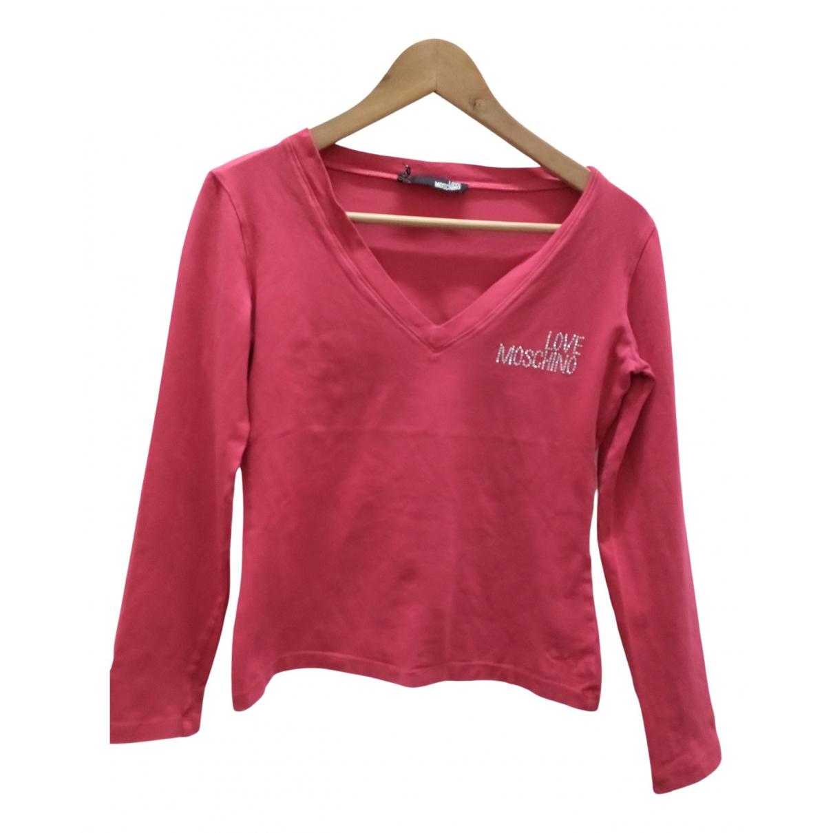 Moschino Love - Polos   pour homme en coton - rose