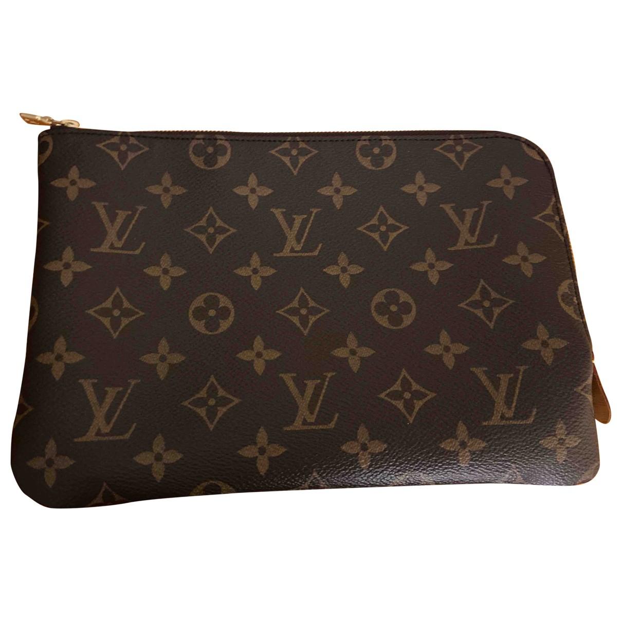 Louis Vuitton - Petite maroquinerie   pour femme en toile - camel