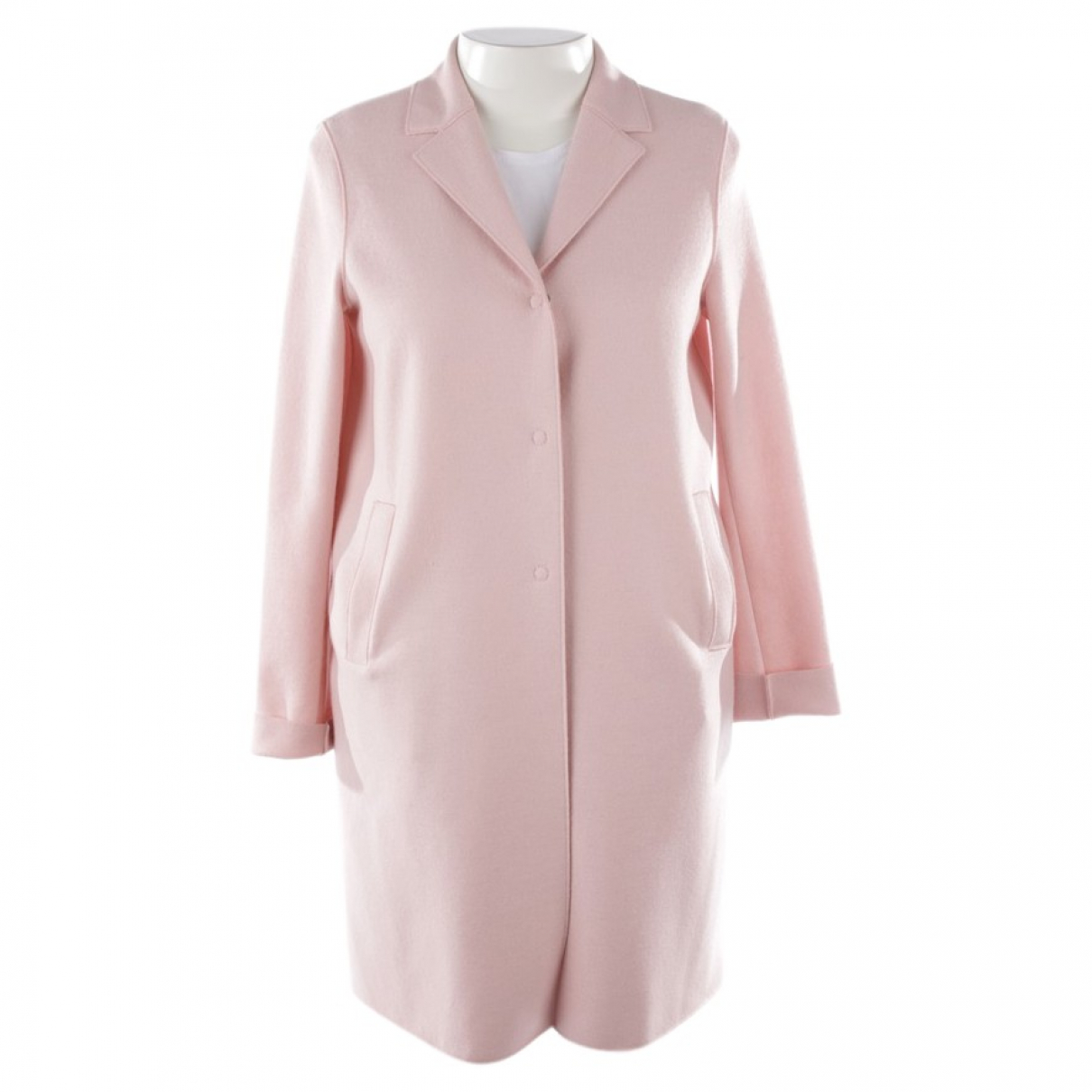 Harris Wharf London \N Pink Cotton jacket for Women 40 FR
