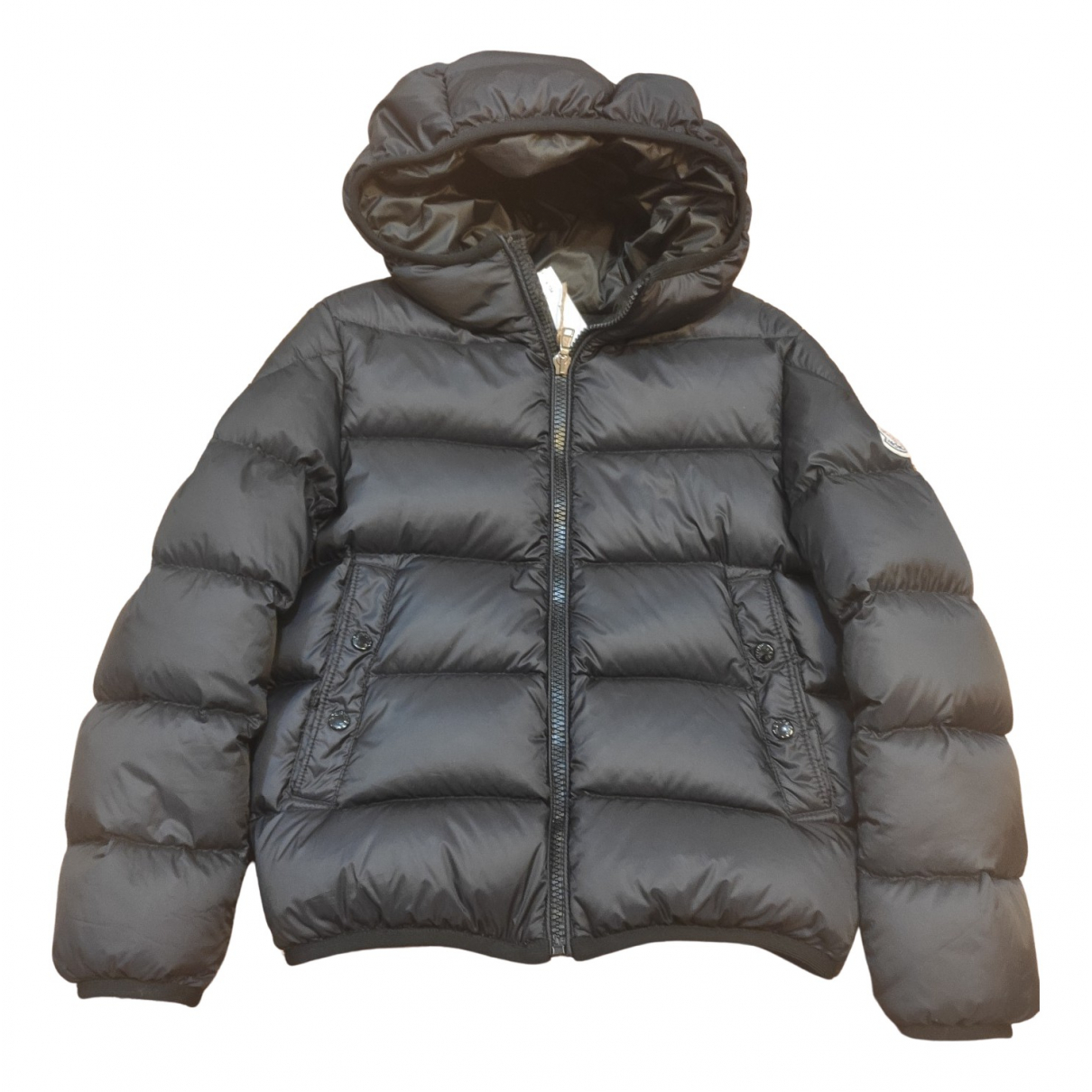 Moncler - Blousons.Manteaux Classic pour enfant - noir