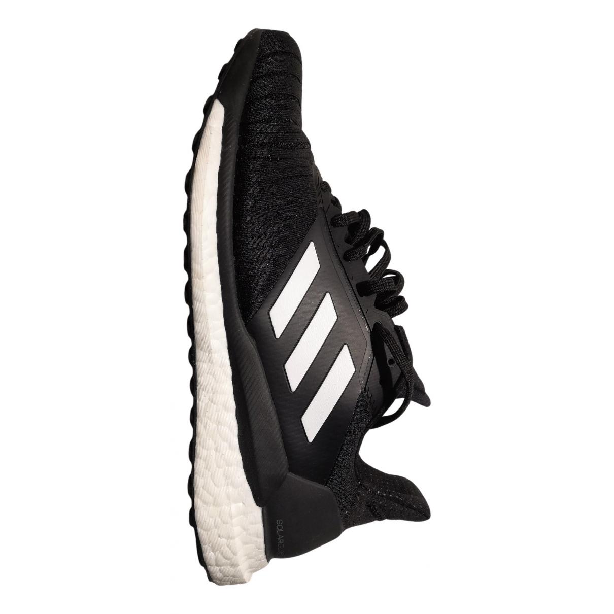 Adidas - Baskets   pour homme en caoutchouc - noir