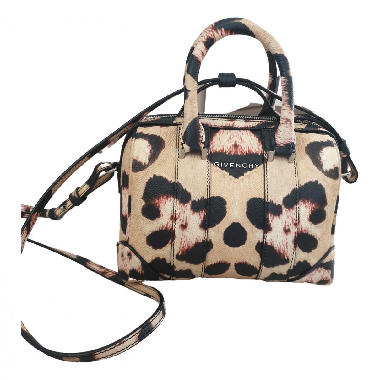Givenchy Lucrezia Beige Leather handbag for Women \N