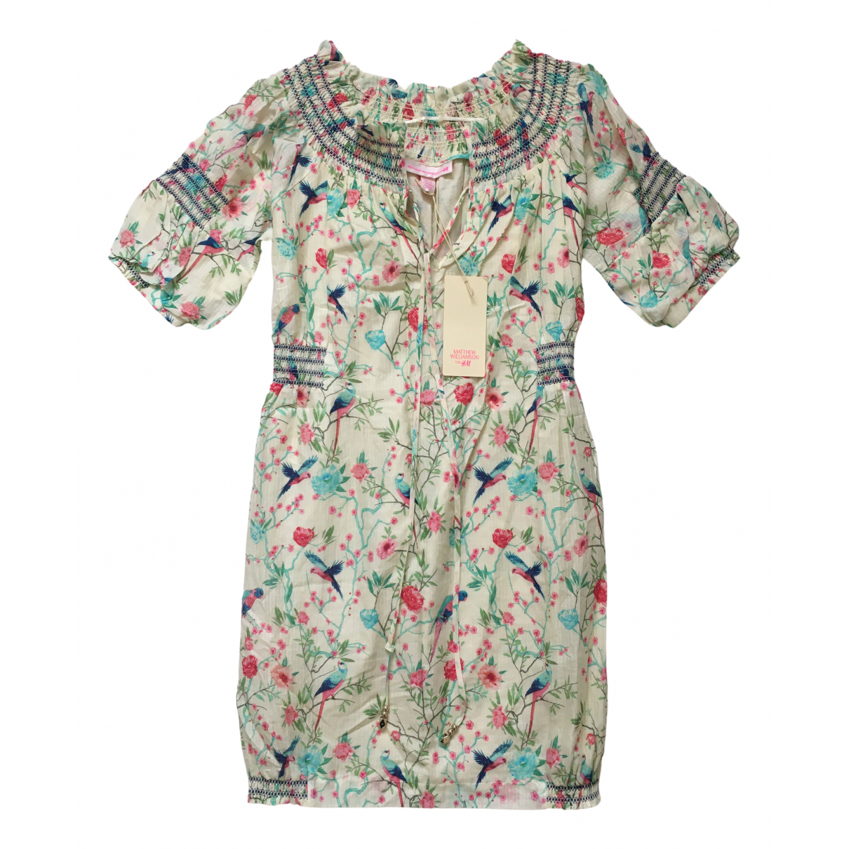 Matthew Williamson For H&m N Multicolour Cotton dress for Women 36 FR