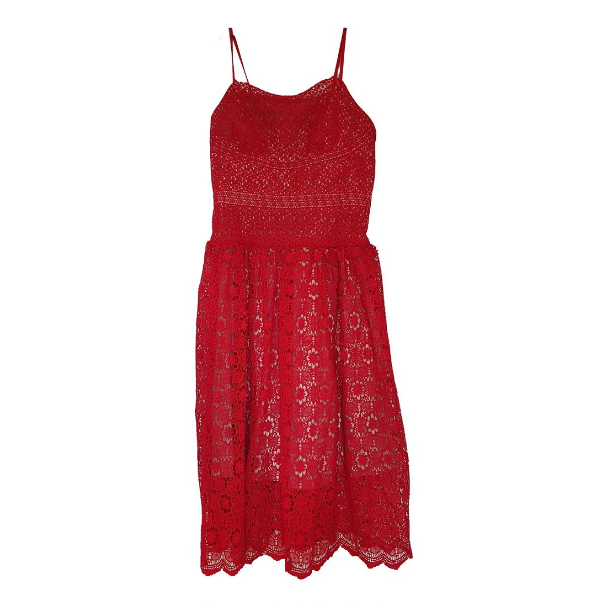 Lawrence Grey \N Kleid in  Rot Polyester