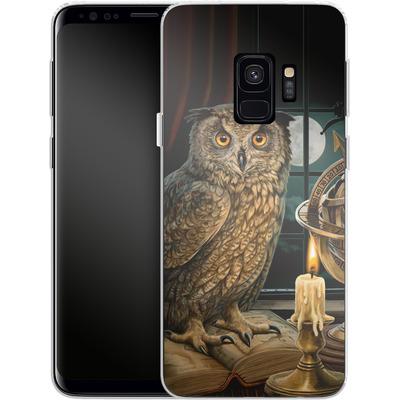 Samsung Galaxy S9 Silikon Handyhuelle - The Astrologer von Lisa Parker