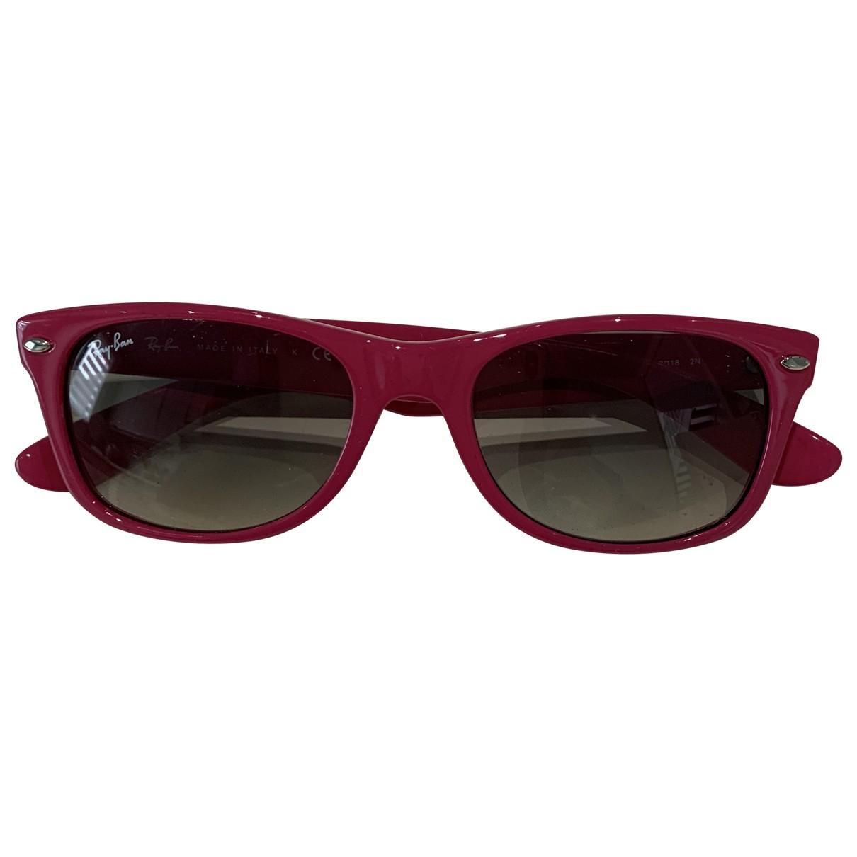 Ray-ban Original Wayfarer Pink Sunglasses for Women N