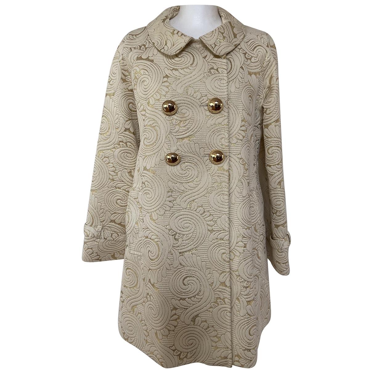 Paul & Joe - Manteau   pour femme en coton - dore