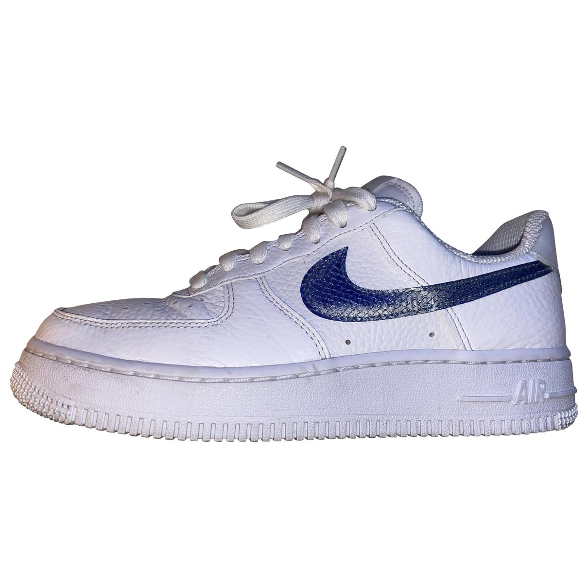 Nike - Baskets Air Force 1 pour femme - bleu