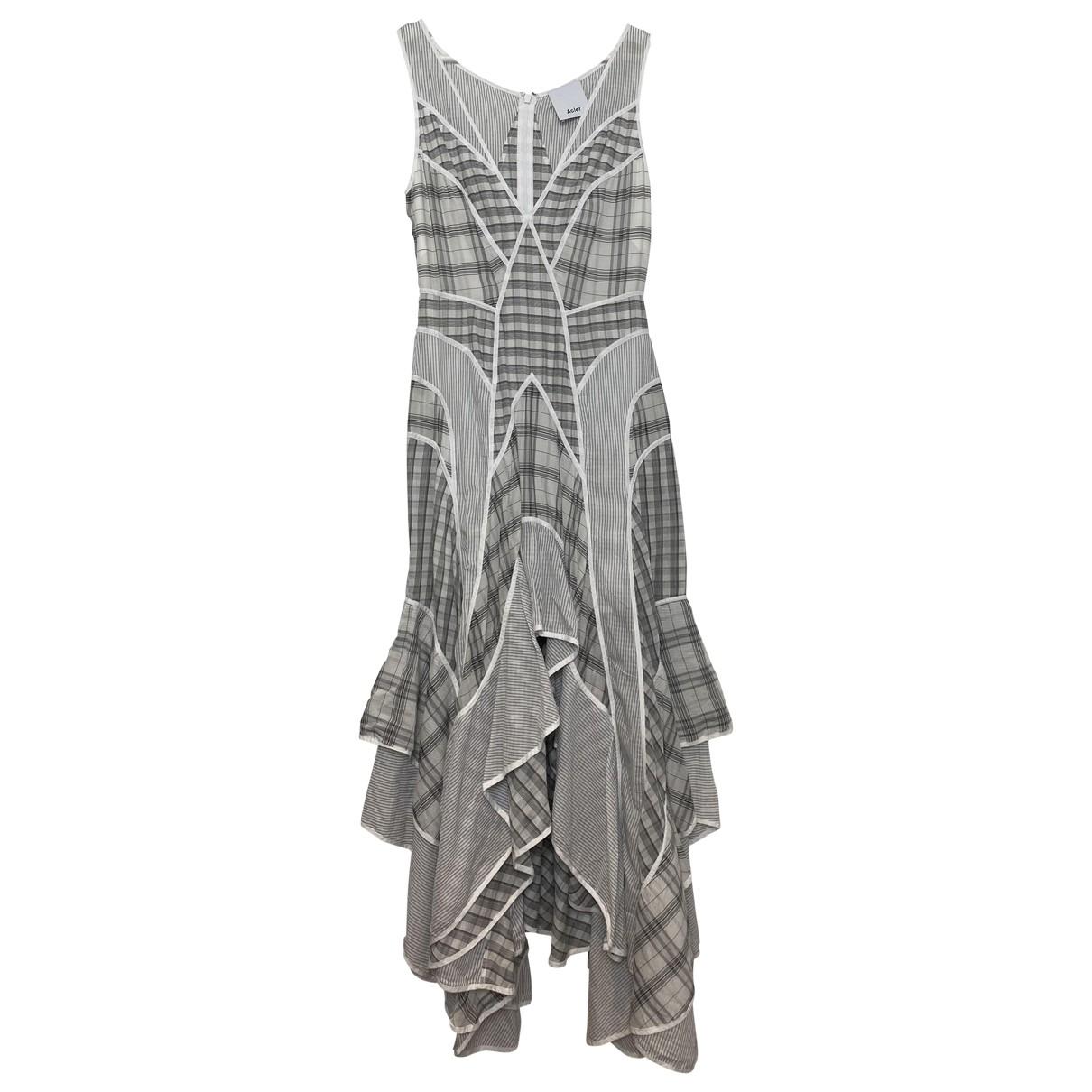 Acler \N White Cotton dress for Women 8 UK