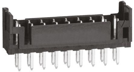 Hirose , DF11, 18 Way, 2 Row, Straight PCB Header (100)