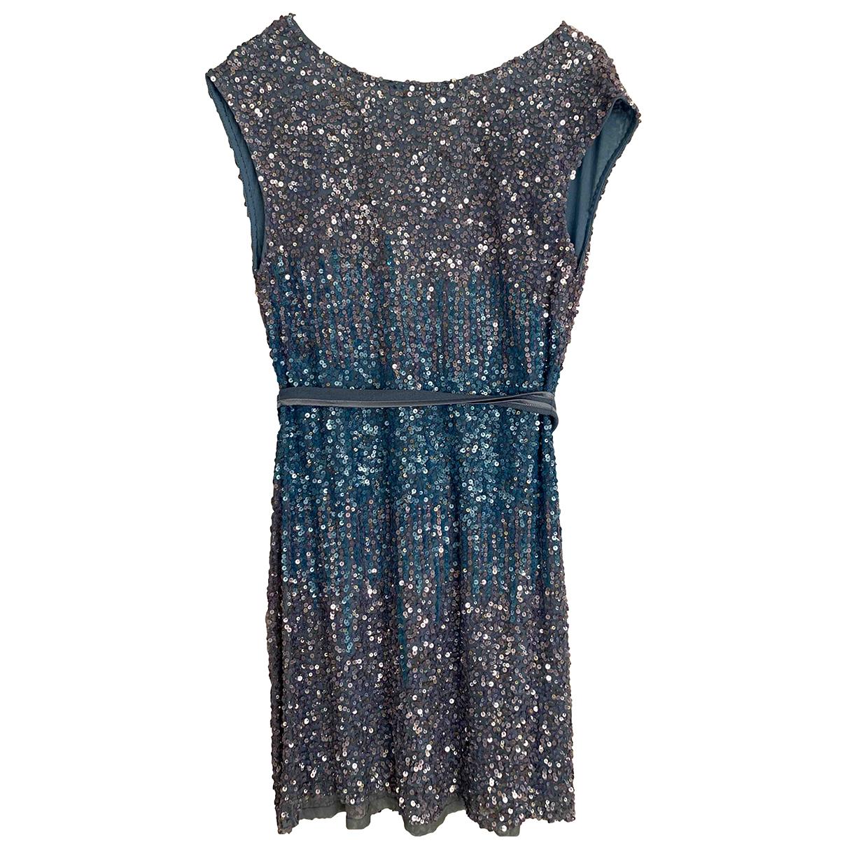 Pinko \N Kleid in  Blau Synthetik