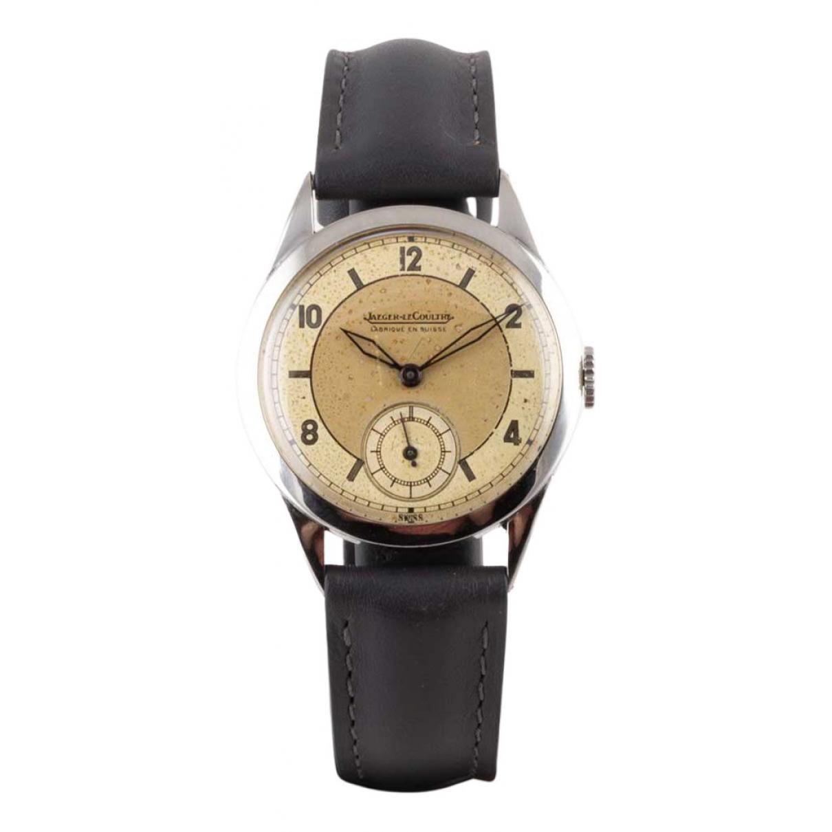 Jaeger-lecoultre Vintage Silver Steel watch for Men N